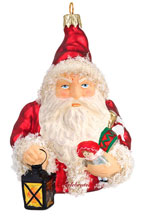 German Santa with Lantern