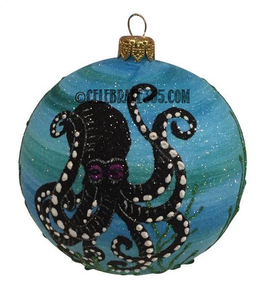 Christmas In Octopus Garden >> Thomas Glenn Octopus Garden Ball Ornament